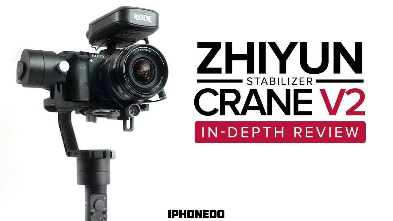 a great stabilizer for dslr and mirrorless cameras zhiyun crane v2