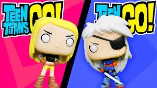 TEEN TITANS GO! Funko Pop Complete Set of Villains and Superheros with Rose Wilson