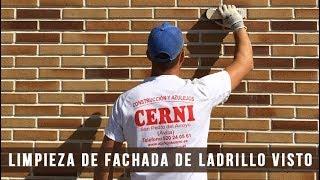 LIMPIEZA DE FACHADA DE LADRILLO VISTO - Cerni S.L.