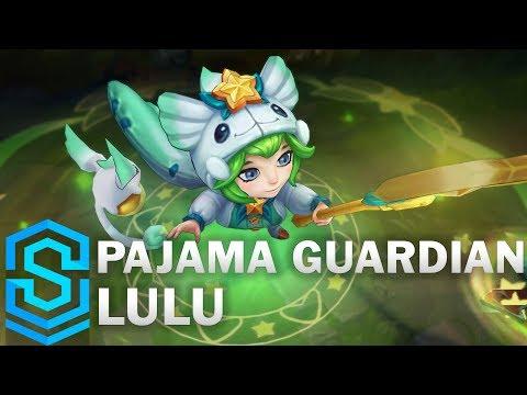 Pajama Guardian Lulu Skin Spotlight - Pre-Release - League of Legends