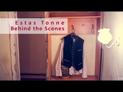 Estas Tonne - behind the scenes in Samara, Russia.