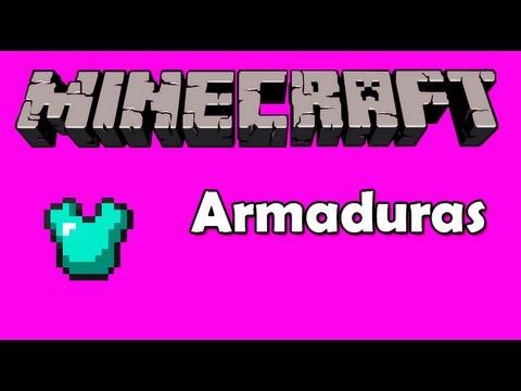 Aprenda A Fazer Sua Armadura No Minecraft Doovi