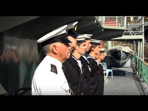 New Tour of Duty on HMAS Diamantina