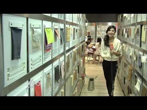 นิทรรศการคู่สร้าง(สรรค์) โดยห้องสมุดวัสดุเพื่อการออกแบบ