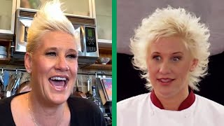 Anne Burrell Reacts to the FIRST Episode of Worst Cooks in America | Food Network