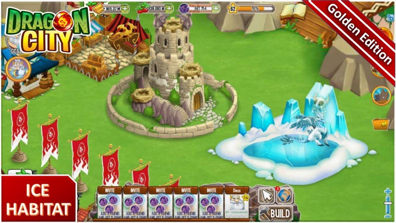 Dragon City Unlock Island Gem