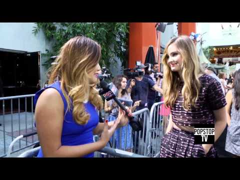 "Liana Liberato Talks ""If I Stay"" Movie Set Moments With Chloe Grace Moretz and ""Best of Me""!"