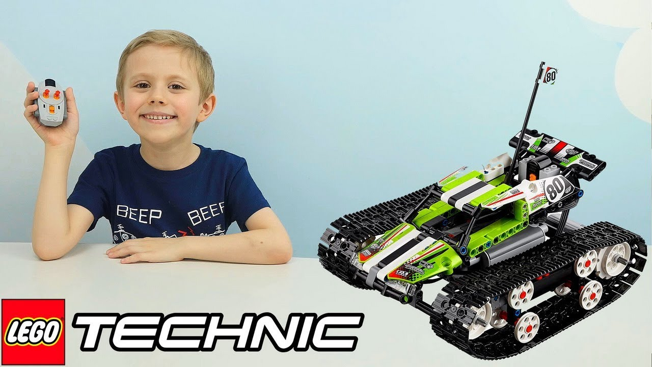 Лего Техник ВЕЗДЕХОД на гусеницах и радиоуправлении - LEGO TECHNIC 42065 RC TRACKED RACER