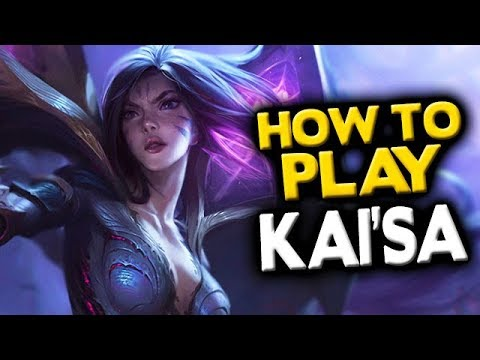 How to Play KaiSa Jungle - League of Legends