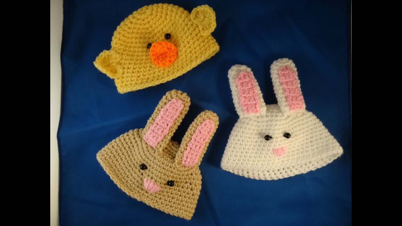 Babypop Paasmutsen Haken Easter Hat Crochet Youtube