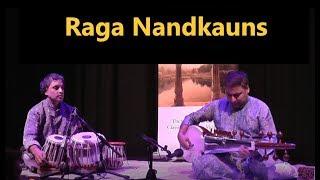 Raga Nandkauns (1/2): Alaap and Vilambit :Rahul Bhattacharya (sarod) Bobby Singh (Tabla)