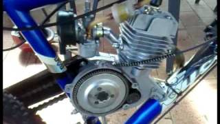 Motorized bike sound deadening