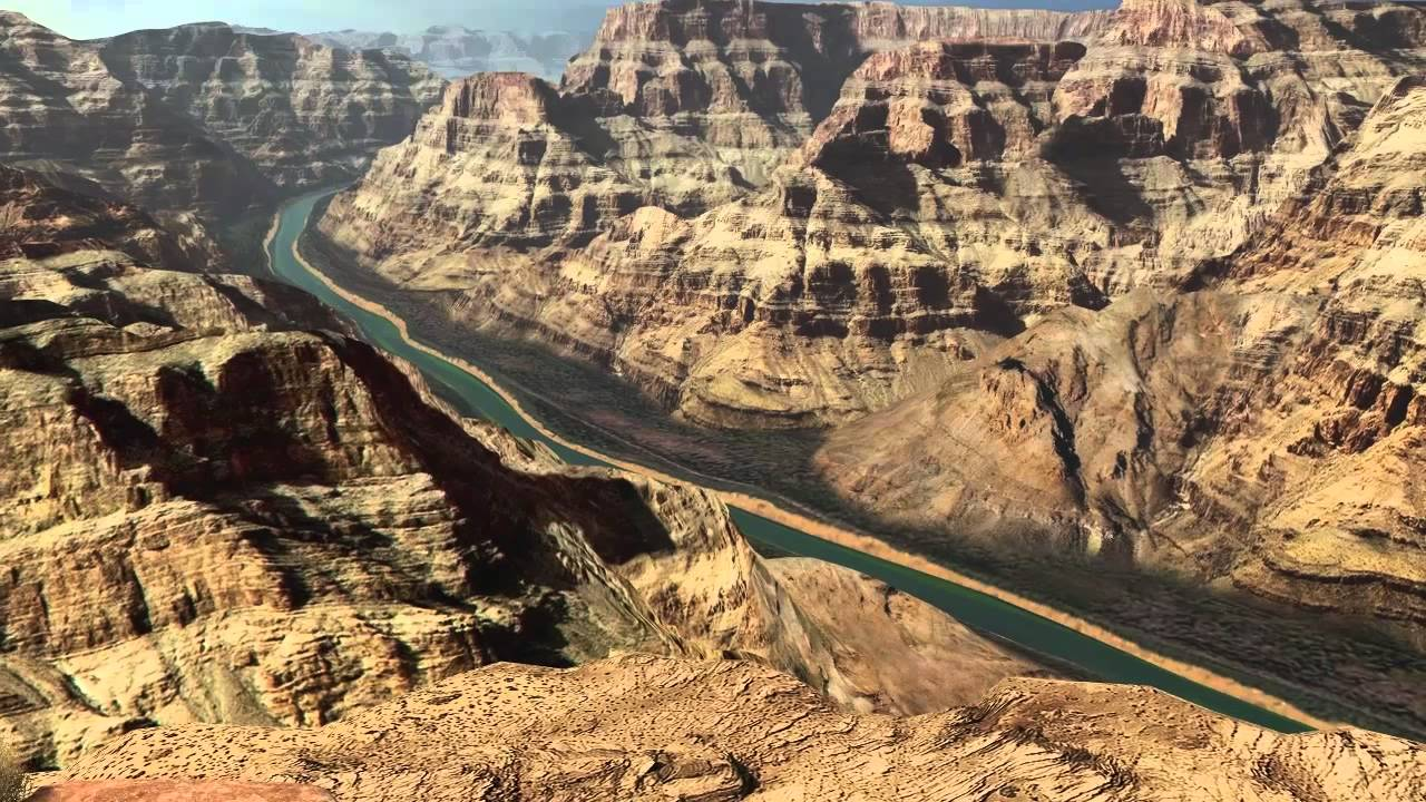 grand canyon 3d screensaver - youtube