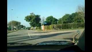 Prova prática de direção - Percurso - Fundão 09/05/2013