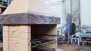 видео Изготовление печей барбекю на заказ.