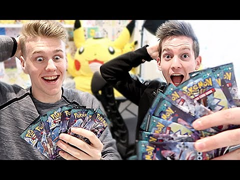 CRAZIEST Pokemon Card Challenge ft. Lachlan
