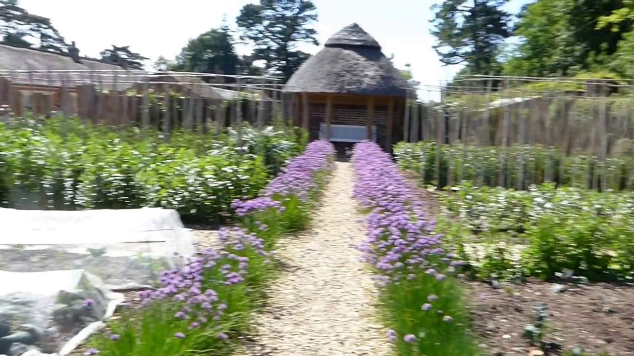Kingston Lacy Vegetable Garden May 2017