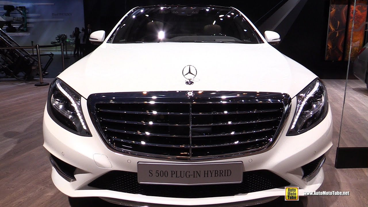 2015 mercedes benz s class s500 plug in hybrid exteriorinterior walkaround 2014 paris auto show youtube