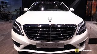2015 Mercedes-Benz S-Class S500 Plug in Hybrid - Exterior,Interior Walkaround - 2014 Paris Auto Show
