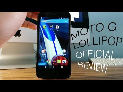 Moto G (2013) Official Lollipop Review!