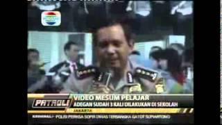 Pelajar SMPN 4 Jakarta Mesum Di dalam Kelas