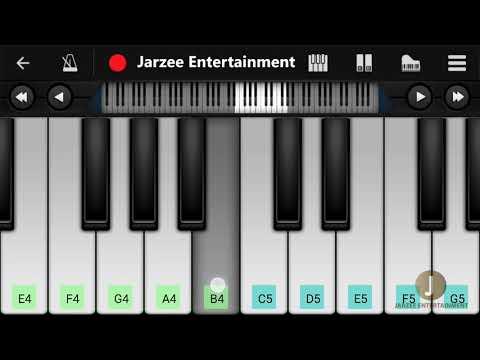 Oh Oh Jane Jaana (Salman Khan) | Easy Mobile Piano Tutorial | Perfect Piano