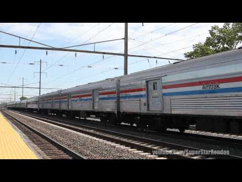 Amtrak Pennsylvanian Train No 43 with 40th Exhibit Train