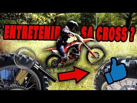 Comment entretenir sa moto cross ?