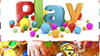 Развивающие занятия для малышей. Украшаем вазу. Изучаем геометрические фигуры с пластилином Плей До