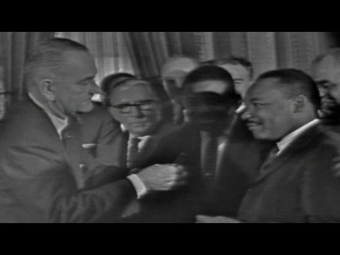 50 years ago, President Johnson signed the Voting Rights Act