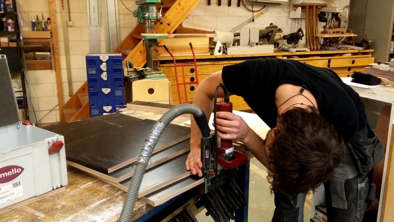 How To Uitleg Werken Met De Lamello Machine