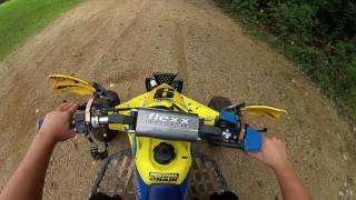 Cr 125 and Ltr 450 Trail Riding