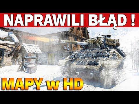 NAPRAWILI BŁĄD !!! - Nowe Mapy w HD - World of Tanks thumbnail
