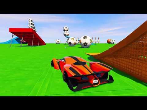 Camiones y Colores Largos Coches Spiderman y superhéroes para niños Canciones de rimas infantiles