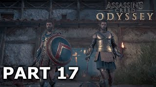 Assassins Creed Odyssey Gameplay Walkthrough Part 17 - Helping Anthousa! (Alexios Walkthrough)