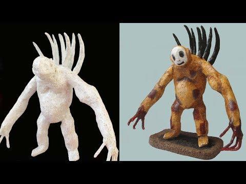 3D PEN/Slendytubbies 3/Делаем Берсерка Гиганта при помощи 3Д Ручки/DIY/3Д РУЧКА