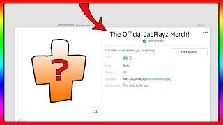 L'Offical JabPlayz IDK Squad Merch! (Roblox)