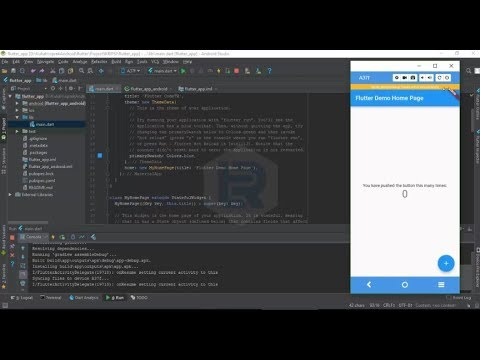 Flutter - How to Setup and Run Emulator android with Android Studio