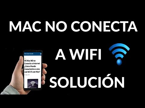 Mac NO se Conecta a Internet Wifi | Solución