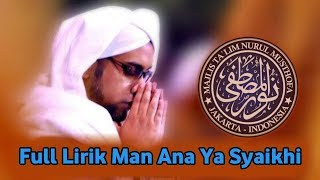 "Download Mp3 Bikin Baper | Full Lirik Syair Yang Viral!!! ""man Ana Ya Syaikhi"" Vers"