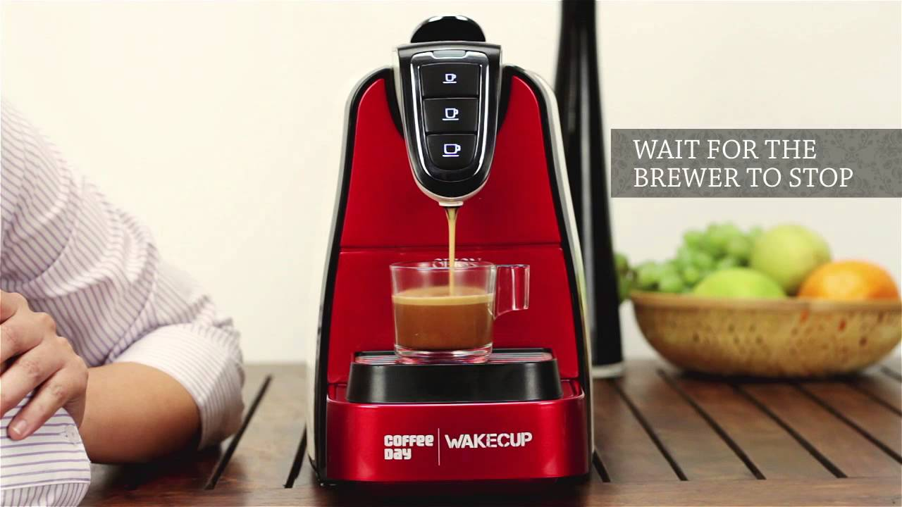 Electronic Coffee Day Coffee Machine ccd wakecup coffee brewer youtube