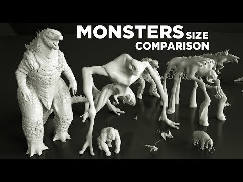 Movie MONSTERS - Real Dimensions in 3D