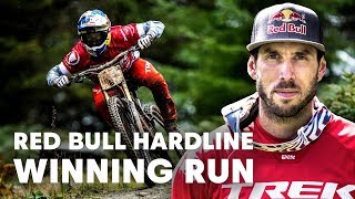 Gee Atherton's Ride For The Win | Red Bull Hardline 2018