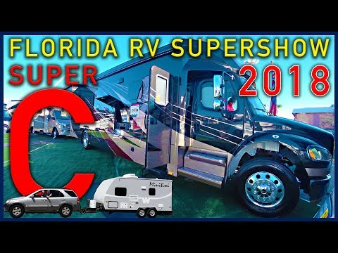 Florida RV Supershow 2018 - Super C Motorhomes