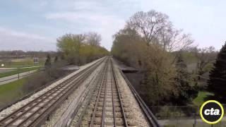 CTA Ride the Rails: Yellow Line to Howard in Real Time