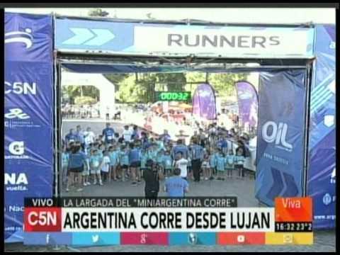 C5N -  ARGENTINA CORRE EN LUJAN (PARTE 3)