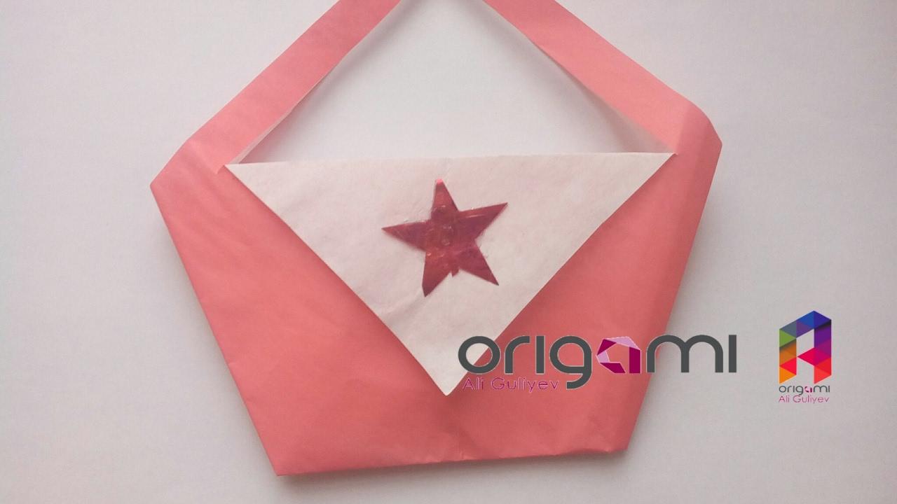 origami facile sac