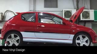 206RC Rally Car Build