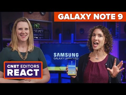 Galaxy Note 9: CNET editors react