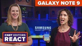 Galaxy Note 9: CNET editors react